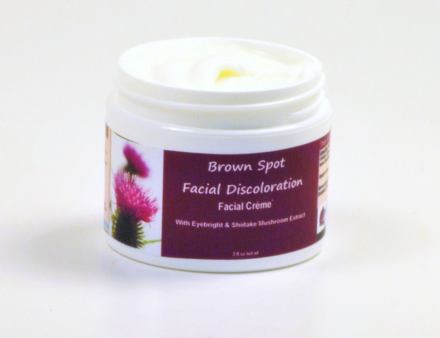 Brown Spot Facial and Body Discoloration Cream with MSM and Shiitake